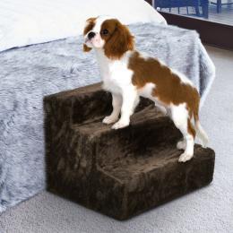 31cm Doggy Steps Stairs Ladder - Dark Brown