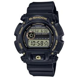 Casio G-Shock Special Color Black/Gold Digital Watch DW9052GBX-1A9...