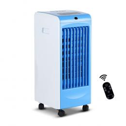 Portable Evaporative Air Conditioner Cooler with Remote - Blue