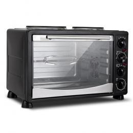 5 Star Chef 34L Portable Convection Oven - Black