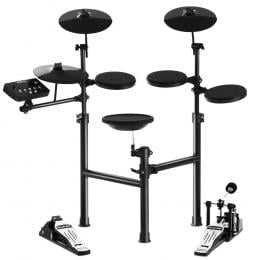 8 Piece Electric Electronic Drum Kit Drums Set For Kids Adults