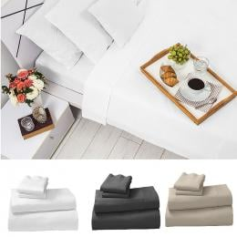 Egyptian Cotton 1200TC  King or Queen 4 Piece Sheet Set