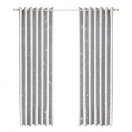Star Blockout Curtains 3 Layers Eyelet Pure Fabric Room Darkening