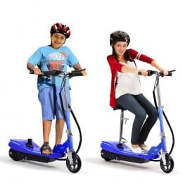 Electric Scooter Led Portable Commuter Adult Kids E-bike Blue