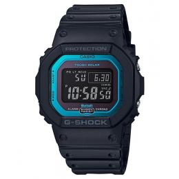Casio G-Shock Bluetooth Black/Blue Digital Mens Watch GWB5600-2...