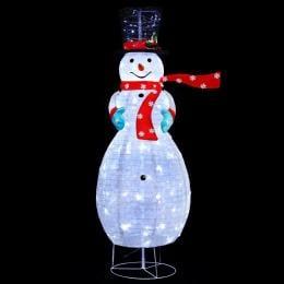 Jingle Jollys Christmas Motif Lights Foldable 120 LED Fairy Outdoor