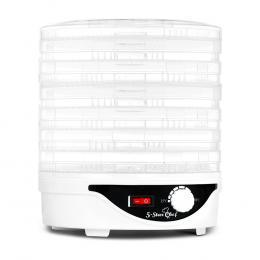 7 Tray Food Dehydrator - White