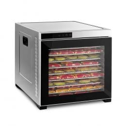 Large Commercial 1100w Food Dehydrator Stainless - 10 Tray