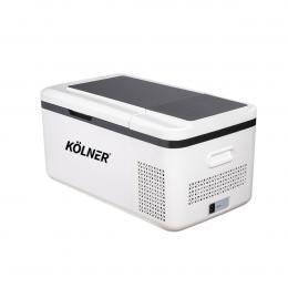 Kolner 20L Portable Fridge Cooler Freezer Camping Refrigerator - White