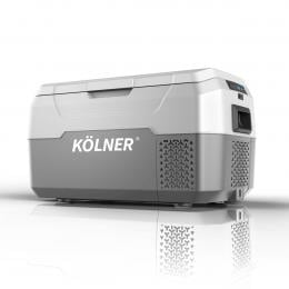 Kolner 20L Portable Fridge Cooler Freezer Camping Refrigerator Grey