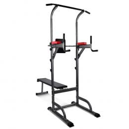 Power Tower 9-IN-1 Multi-Function Station Fitness Gym Equipment