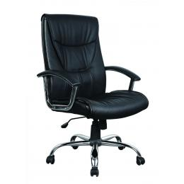 Exec Prem Pu Leather Office Comp Work Chair Deluxe Black10
