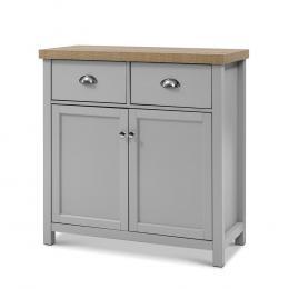 Sideboard Buffet Storage Cabinet Cupboard Drawer Dresser Table Grey