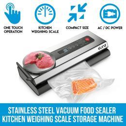 Elinz Stainless Steel Food Vacuum Sealer Bags Packaging Saver Kitchen