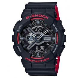 Casio G-Shock Dual Tone Black/Red Mens XL Watch GA110HR-1A