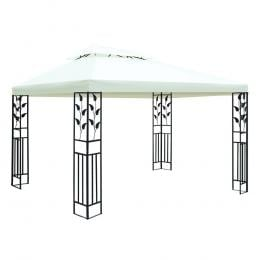 4x3m Gazebo Party Wedding Event Marquee Tent Shade Iron Art Canopy