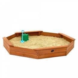 Plum Large Octagonal Wooden Sand Pit