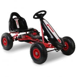 Kids Pedal Powered Go Kart - Red