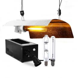 400W HPS MH Grow Light Kit Magnetic Ballast Reflector Hydroponic