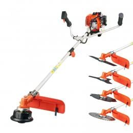 43cc Brush Cutter Whipper Snipper Garden Tool with 4 Blades