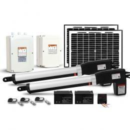 LockMaster 1000KG Swing Gate Opener Solar Power Electric Kit Remote