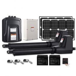 LockMaster Swing Gate Opener Auto 40W Solar Power Control 1000KG