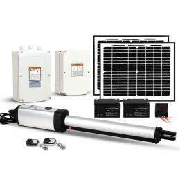 LockMaster 600KG Swing Gate Opener Auto Solar Electric Remote Control