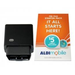 Elinz 3G GPS Tracker OBD2 Tracking Device Remote Car W/ Aldi Sim