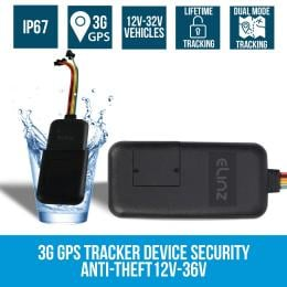 Elinz 3G GPS Tracker Real Live Tracking Device Car 12v-36v No Sim