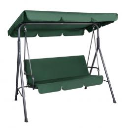 Outdoor Swing Chair Hammock 3 Seater Garden Canopy Bench Seat Backyard