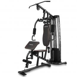 Powertrain Multi-Station Home Gym with Preacher Curl Bench