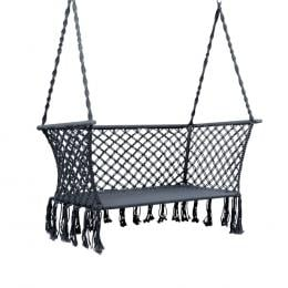 Camping Hammock Chair Patio 2 Person Swing Double Portable Rope