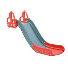 Kid Slide 135cm Long Silde Activity Center Toddlers Playground Red