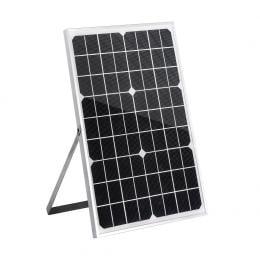 20W Solar Panel Kit Caravan Camping Charging Source 18V Controller