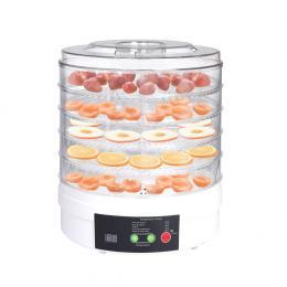 Food Dehydrators Fruit Vegetable Dryer  Beef Jerky Preserve 5 Trays