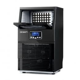 Ice Maker Machine Commercial Square Ice Cube Black LCD Display