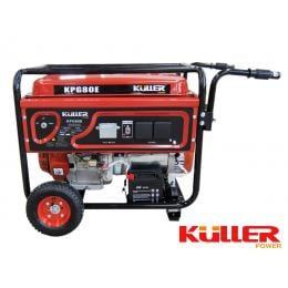 KULLER 18HP 7500W Rated Single-Phase Petrol Backup Generator