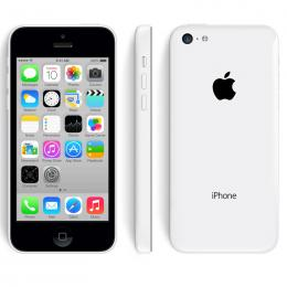 Apple iPhone 5c 16GB Unlocked with USB cable only - White