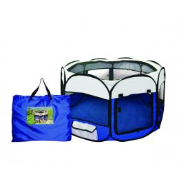 Pawz Portable Soft Pet Playpen In Size X Large In Blue Colour