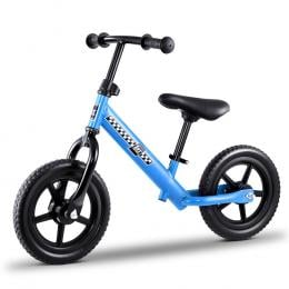 Kids Balance Bike Ride On Toys Puch Bicycle Wheels - Blue