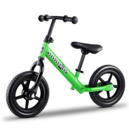 Kids Balance Bike Ride On Toys Push Bicycle Wheels - Green