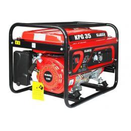 KULLER 3200W Rated Single-Phase Petrol Backup Generator