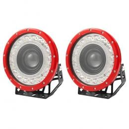 Pair 9 inch Spotlights LED Driving Lights  Round 4WD 4x4 SUV OffRoad