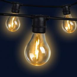 Jingle Jollys 23m LED Festoon String Lights 20 Bulbs Kits A19