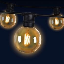 Jingle Jollys 23m LED Festoon String Lights 20 Bulbs Kits G80