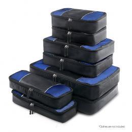 Wanderlite 8 Piece Luggage Organiser Travel Bags