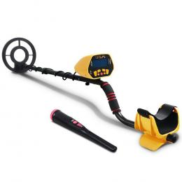 Metal Detector Deep Sensitive Searching Treasure Gold Hunt Digger