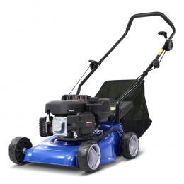 Lawn Mower 17 Petrol Powered Hand Push Engine Lawnmower Catch 4Stroke