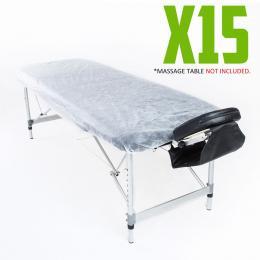 Disposable Massage Table Cover 180cm x 55cm 15pcs