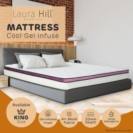 Memory Foam Cool Gel Infused King Mattress